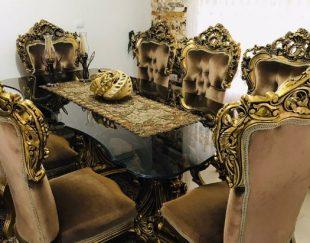 میز ناهارخوری هشت نفره