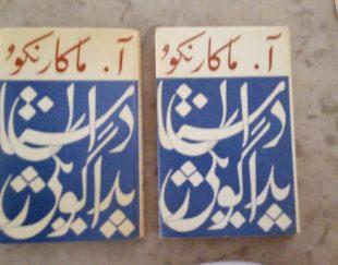 دوجلد کتاب داستان پداگوژیکی