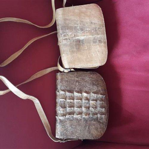 کیف از پوست کروکودیل (اصل وزیبا و خاص)