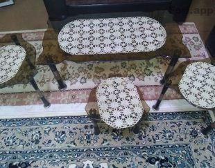 میز عسلی چهارتیکه