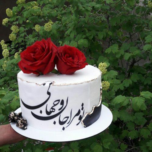 قبول انواع سفارشات کیک