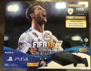 (PS4 Slim 500GB (FiFa 18 Bundle