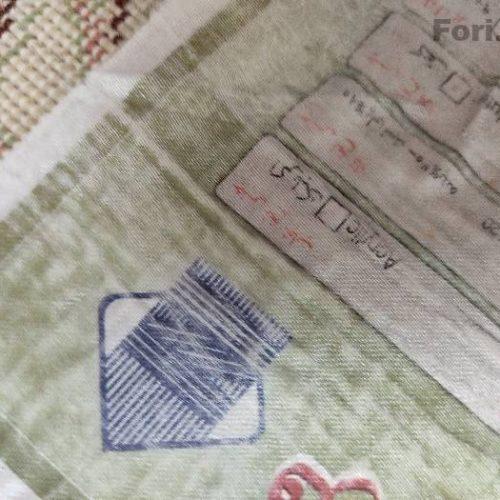 دوعدد فرش ۹متری ۷۰۰شانه اکریلیک