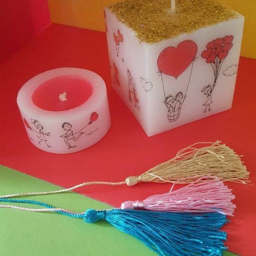 فروش انواع شمع دست ساز