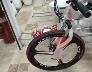 دوچرخه تاشو صفر وبدون کارکرد تمام حرفی
