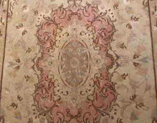 یک جفت قالیچه تمام ابریشم طرح احمد پور