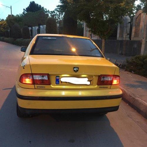 تاکسی سمند EF7
