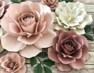گل کاغذی مقوایی گل پایه دار و گل پایه دار گل دیواری گل دکوراتیو گل ایستاده گل دیواری