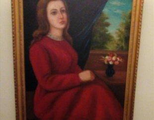 تابلو نقاشی نفیس قدیمی