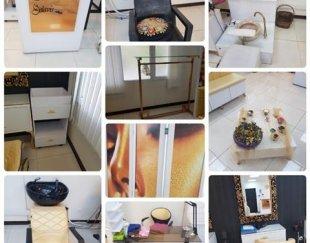 لوازم و دکوراسیون آرایشگاه زنانه