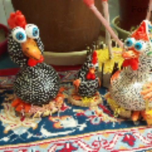 مرغ خروس تزیینی