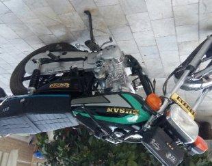 موتور سیکلت احسان ۱۵۰ انژکتوری استارتی نو درحد صفر