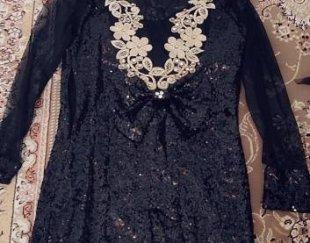 لباس مجلسی زنانه مشکی (پولکی) سایز۳۸