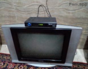 تلویزیون ۲۴ اینچ سامسونگ. گیرنده دیجیتال