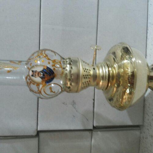دوعدد چراغ نفتی اصل برنز خالص