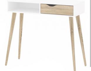 میز آرایش mdf پایه چوبی