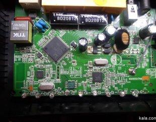 تعمیر حرفه ای و تخصصی انواع مودم ADSL با گارانتی