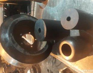 تولید انواع قطعات لاستیکی سبک و سنگین