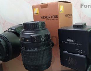 دوربین نیکون ۵۱۰۰D به همراه دولنز عکسبرداری و فیلمبرداری