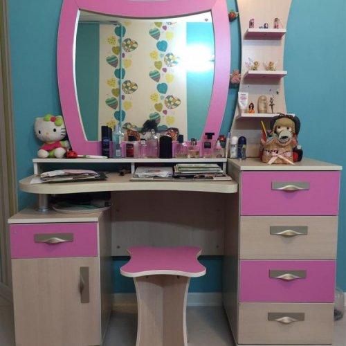 سرویس کامل اتاق خواب دخترانه- سفارشی
