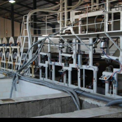 دستگاه تولید مقوا جهت بسته بندی.دو طبقه