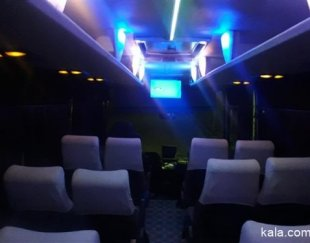 اتوبوس و مینی بوس مدل بالا.دربستی و سرویس دهی