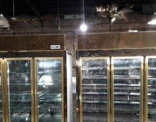 فروش یخچال و فریزر ایستاده و ویترین  درحد نو دوماه کارکرد