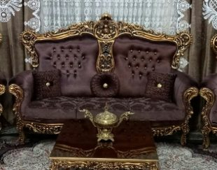 مبلمان سلطنتی همراه با میز ناهار خوری جنس چوپ اصل راش و به همراه وسایل ست دیگر به توضیحات لطفا مراجعه فرمایید.