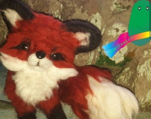 عروسک روباه کچه