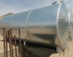 تانکر ۵۰۰۰ لیتری گالوانیزه منبع مخزن تانک سازی