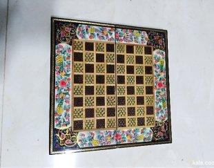 تخته نرد و شطرنج خاتم کاری
