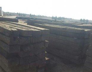 فروش الوار چوب چنگلی به ابعاد ۲۶۰*۱۴*۲۵ – قیمت هر عدد ۵۰۰۰۰