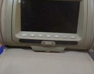 دستگاه مانیتور سر صندلی DVD