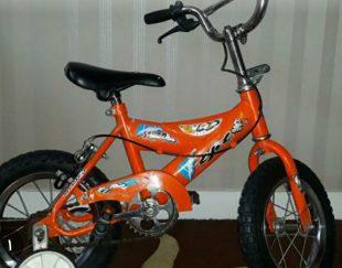 دوچرخه تی پی تی ساخت ایتالیا نو و سالم سایز ۱۲