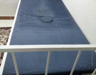 تختخواب بیمار با جک بالا بر بیمارستانی