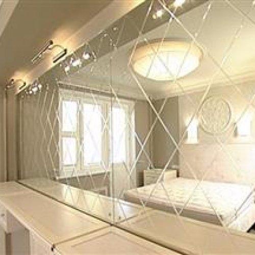 آینه کاری مدرن(دکوراتیو) دیوار و سقف