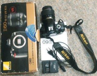 دوربین حرفه ای نیکون d60