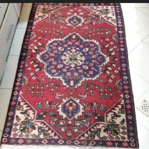 فرش یک در یک و نیم دست بافت