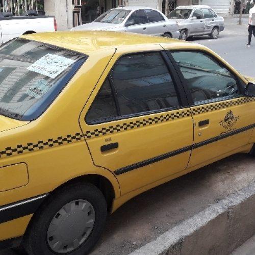 تاکسی پژومدل ۹۶