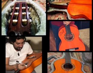 فروش گیتار فلامنکو دست ساز بلانکا