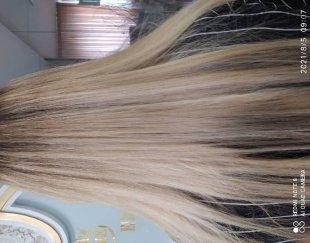 مدل رنگ مو  هزینه مواد دریافت میشود