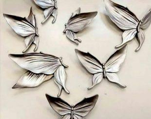 دیوارکوب پروانه وگل