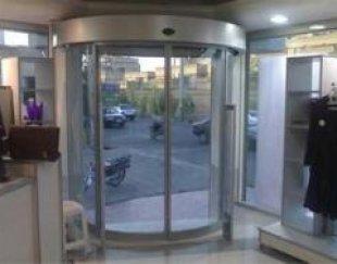 درب اتوماتیک ، ضدسرقت ، UPVC ، آسانسور