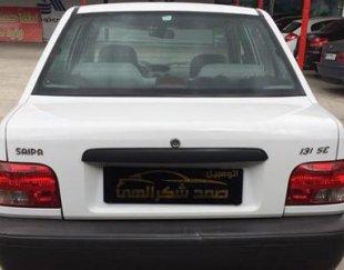 پراید سفید مدل ۹۳