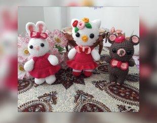 عروسک های بافتنی زیبا