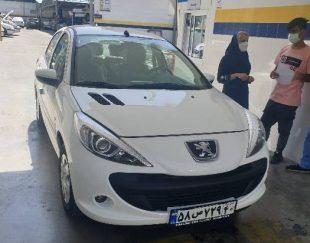 فروش خودرو ۲۰۷ صفر پلاک تهران تحویل امروز