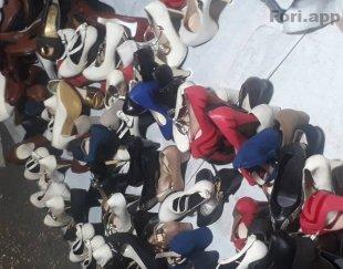 کفش های مجلسی بصورت کلی  و جزئی