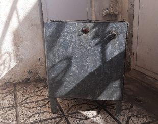 تانکرآب.بشکه آب،مخزن آب.صندوق آهنی