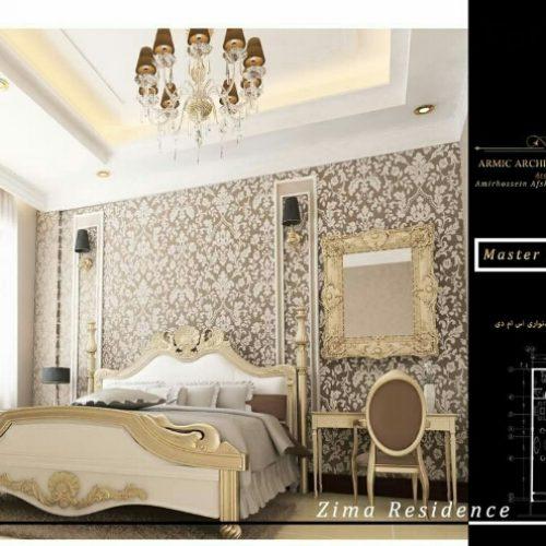 ۱۵۰متر اپارتمان ولنجک ۳ خواب شاهکار معماری