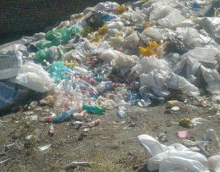 ۸تن ضایعات پلاستیک وپن